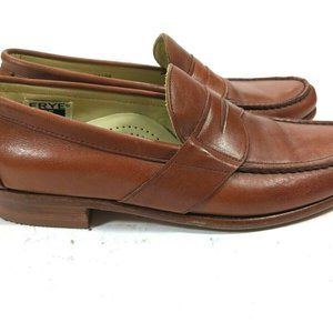 Frye Light Brown Leather Penny Loafers 10 N